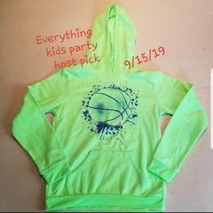 🎉HP🎉🆕️Fila neon green hoodie